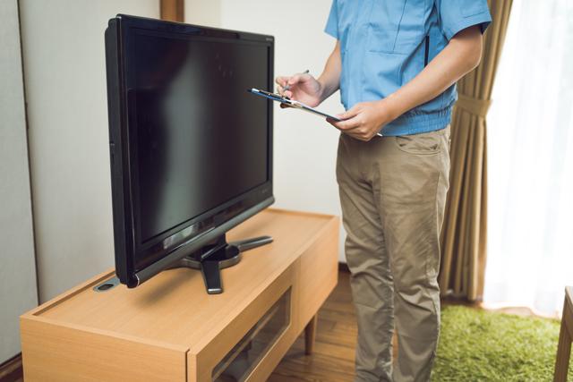 液晶テレビ見積り